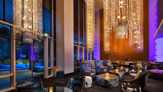 Dallas Bars W Dallas Victory Hotel - Living Room And Bar Design